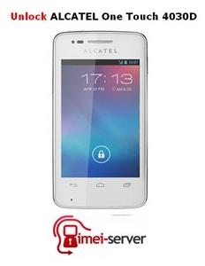 Unlock Alcatel One Touch 4030D Megafon Russia (IMEI unlock)