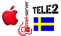 Unlock Sweden Tele2 iPhone