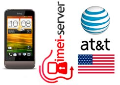 Unlock USA AT&T HTC One V