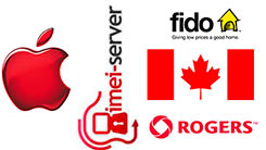 Official unlock Canada Fido/Rogers iPhone