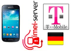 Unlock Germany T-Mobile Samsung Galaxy S4 mini GT-I9195