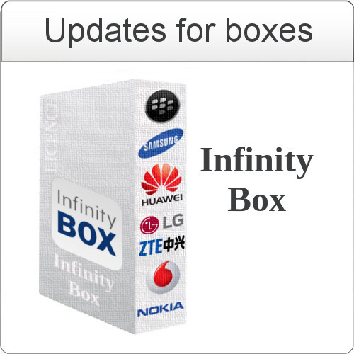 Update Infinity Box `SM` software v1.09